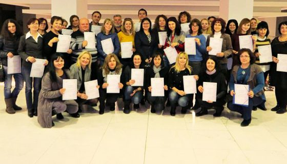 70 teachers passed training for innovative pedagogues